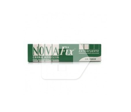Novafix Extrafuerte crema adhesiva 15g