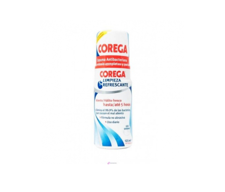 Corega® limpieza refrescante espuma 125ml