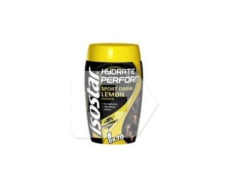 Isostar Hydrate&Perform sabor limón 400g