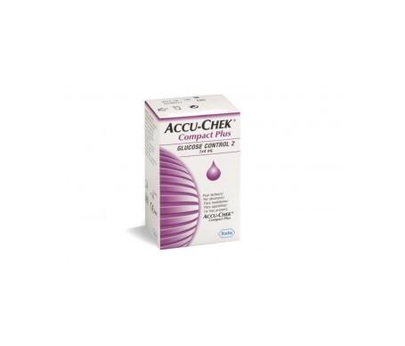 Accu chek compact plus control glucosa 4ml