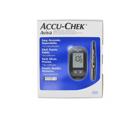 Accu-Chek Aviva Nano medidor glucemia y dispositivo punción 1ud