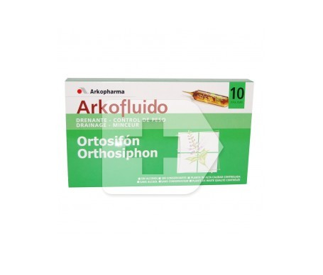 Arkofluido Ortosifón 10amp bebibles