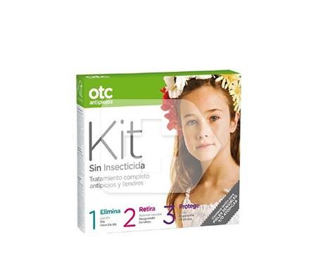 OTC antipiojos Kit 1 2 3 sin insecticida