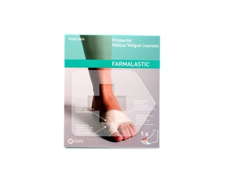 Farmalastic bunion protection pod large size