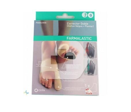 Farmalastic podo corrector double size left