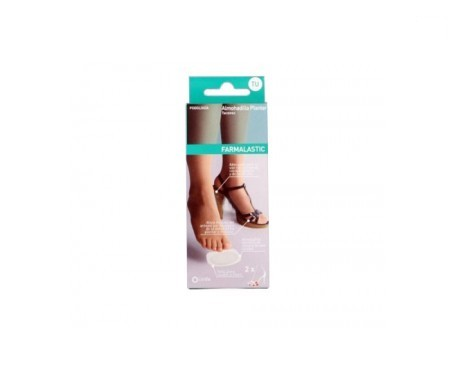 Farmalastic plantar heel pad single size 1 pc heels