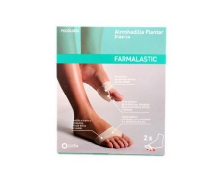 Farmalastic podo plantar gel pad size 36-38