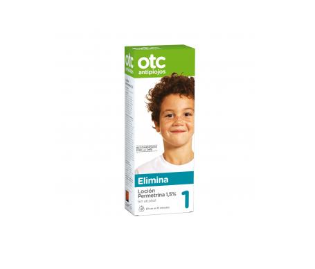 OTC loción antipiojos con permetrina 1,5% 125ml