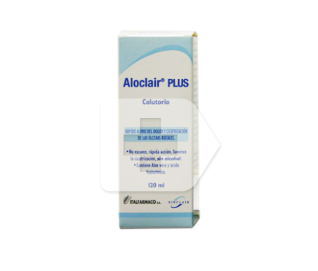 Aloclair® plus dentífrico colutorio 120ml