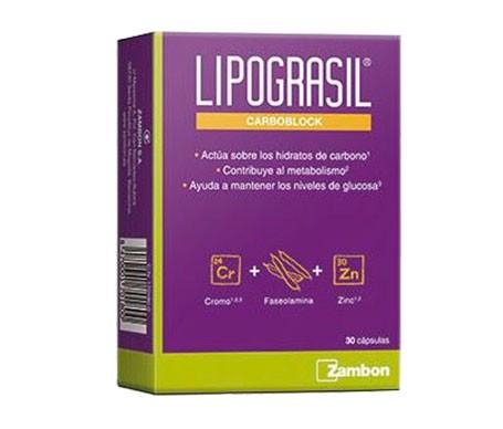 Lipograsil Carboblock 30cáps