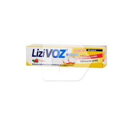 Lizivoz fresa 18 pastillas