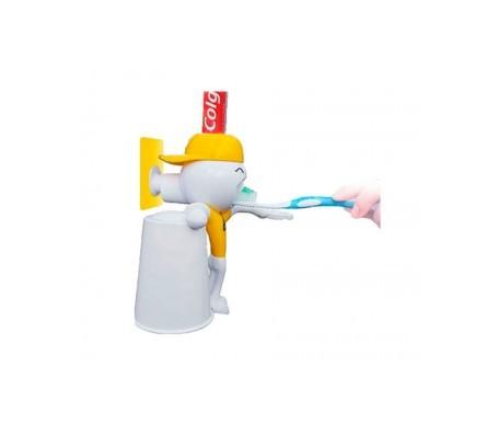 Oral-Teck Andy Doll 3 en 1 distributeur de dentifrice 1 pc