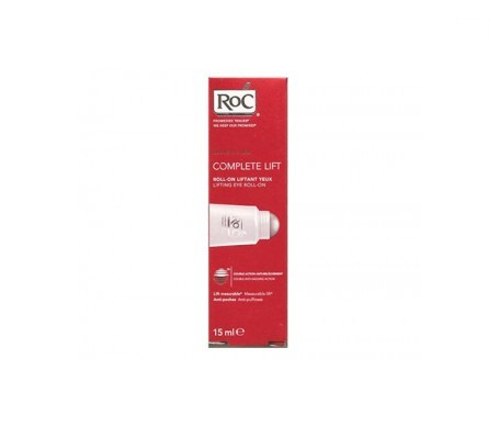 RoC® Complete masajeador antibolsas y lifting roll on 15ml