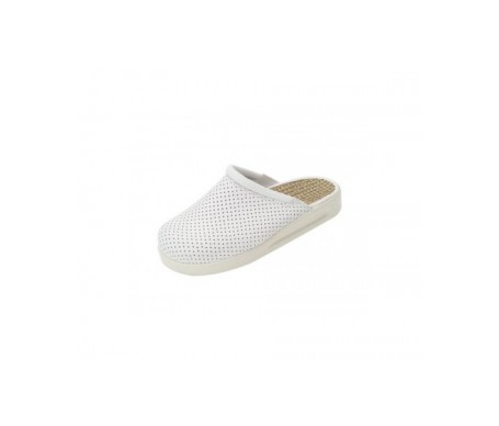 Leco Komfort zueco color blanco nª38 1 par