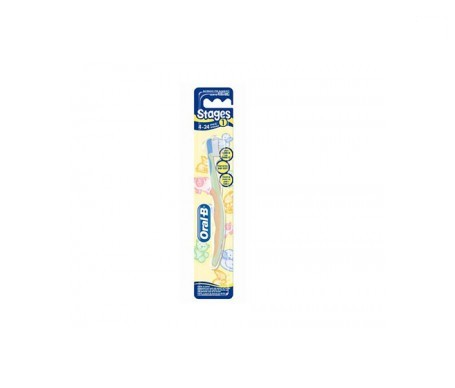 Oral-B Stages 1 cepillo dental infantil 4-24 meses 1ud