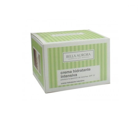 Bella Aurora moisturising cream intensiva SPF12+ 50ml