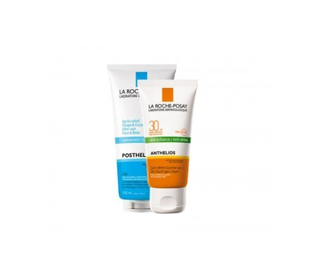 La Roche-Posay Anthelios SPF30+ gel-crema toque seco 50ml+Posthelios 100ml