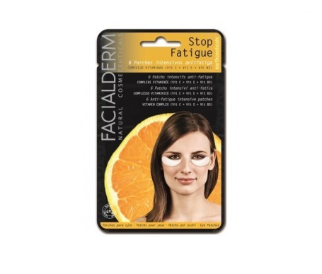 Facialderm Eye Pads Stop Fatigue 6 parches
