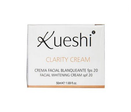 Kueshi crema blanqueante clarity cream 50ml