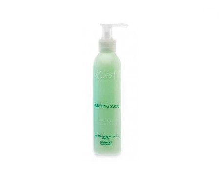 Kueshi facial exfoliating gel purifying scrub 200ml