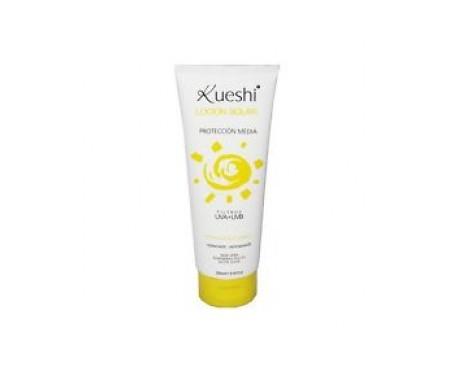 Kueshi loción solar hidratante antioxidante protección media 250ml