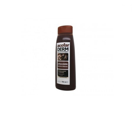 Acofarderm gel de baño chocolate 750ml