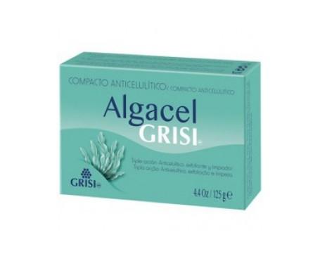 Grisi Algacel jabón anticelulítico exfoliante reafirmante 125g
