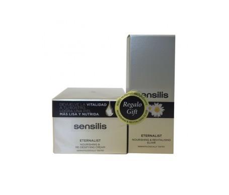 Sensilis Pack Eternalist Crème nourrissante redensifiante redensifiante + sérum revitalisant