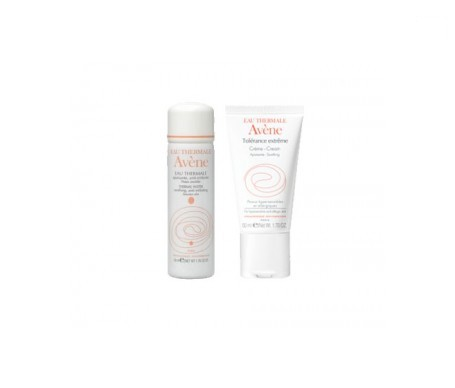 Avène Tolérance Extreme mascarilla 50ml + agua termal 50ml