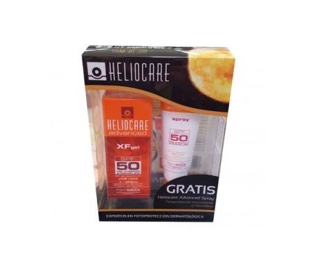 Heliocare Advanced XF SPF50+ gel 50ml+ Advance SPF50+ spray 75ml