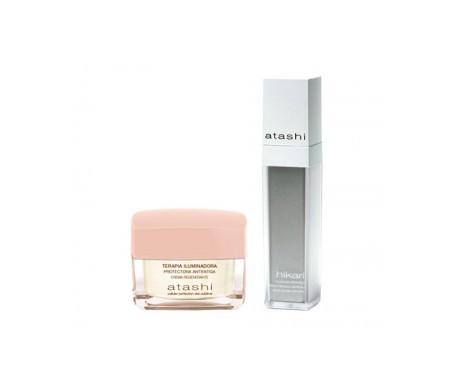 Siero antimacchia Atashi™ Hikari 50ml + Crema rigenerante Atashi™ 50ml