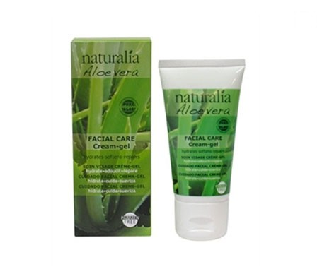 Naturalia aloe vera cuidado facial crema-gel 50ml