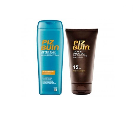 Piz Buin® Pack After Sun/Tan & Pro SPF15+ 150ml+aftersun 200ml