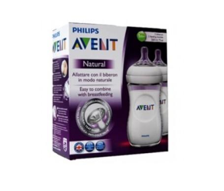 Avent Pack Natural biberón 2x260ml