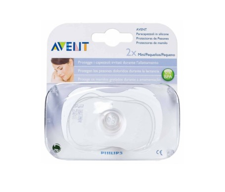Avent protegepezon mariposa silicona 2uds