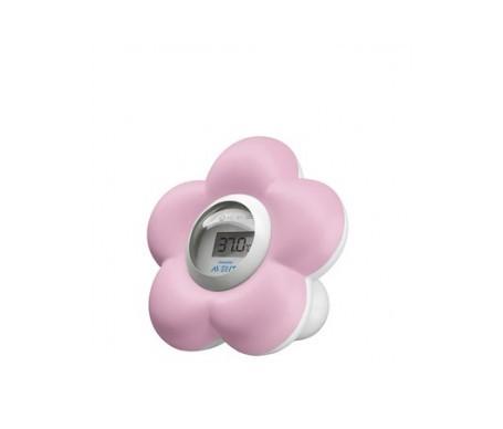 Avent termómetro de baño/habitación del bebé rosa 1ud
