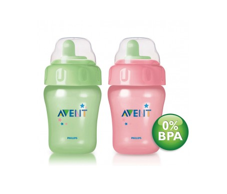 Avent vaso magic boquilla blanda 2uds