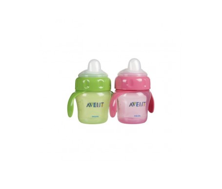 Avent vaso magic boquilla rígida 2uds
