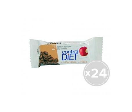 Control Diet barritas nutritivas sabor café 24uds