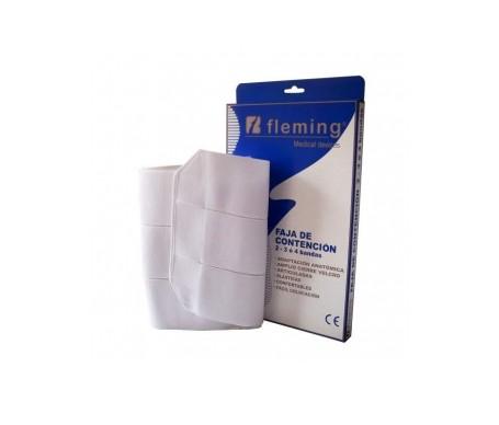 Fleming faja elástica contención 2 bandas T-1 1ud