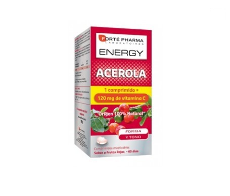 Forte Pharma Energy Acerola 60comp Chewable