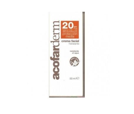 Acofarderm crema facial hidratante SPF20+ 50ml