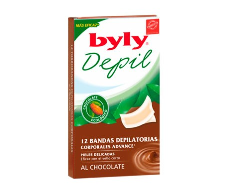 Byly papeles depilatorios 12uds