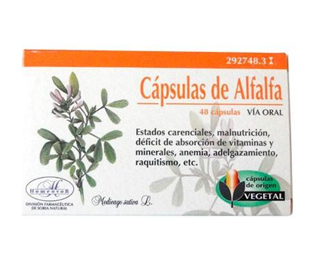 Homeosor alfalfa 320mg 48cáps