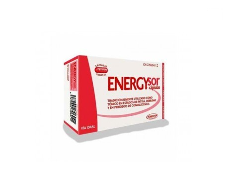 Homeosor Energysor 350mg 60caps