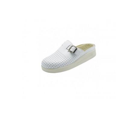 Leco Komfort zueco color blanco nª35-36 1 par