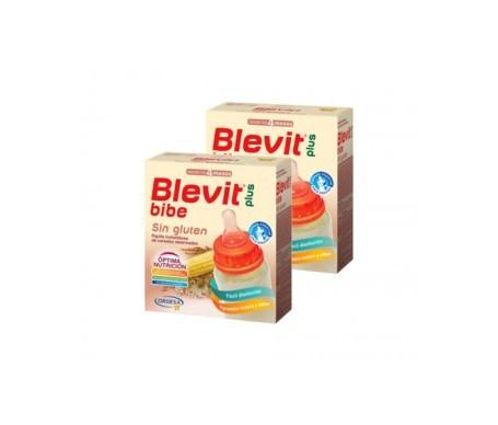 Blevit Plus Bibe Sin Gluten 300g+300g