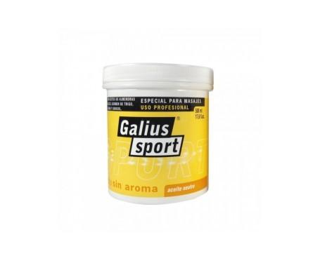 Huile de massage Galius neutre 500ml