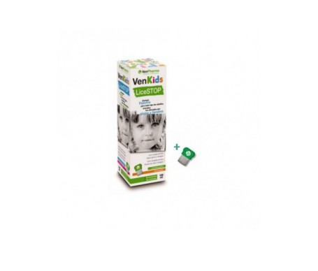 Venpharma Lice Stop champú espuma 165ml + liendrera