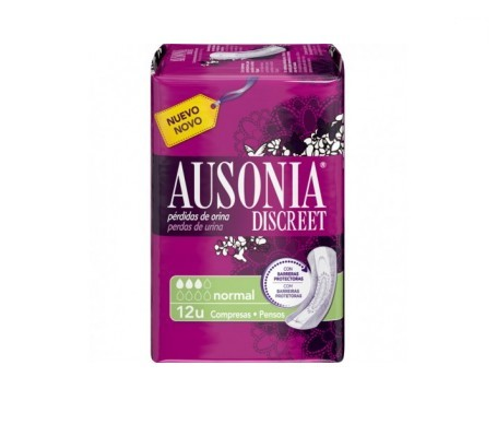 Ausonia Discreet normal 12uds